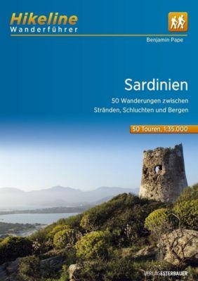 Hikeline Wanderführer Sardinien, Benjamin Pape