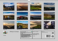 Hiking in Europe (Wall Calendar 2019 DIN A3 Landscape) - Produktdetailbild 13