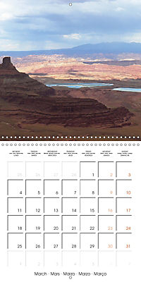 Hiking on the Colorado Plateau (Wall Calendar 2019 300 × 300 mm Square) - Produktdetailbild 3