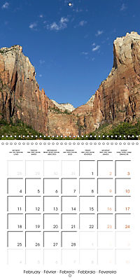 Hiking on the Colorado Plateau (Wall Calendar 2019 300 × 300 mm Square) - Produktdetailbild 2