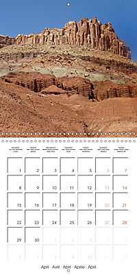 Hiking on the Colorado Plateau (Wall Calendar 2019 300 × 300 mm Square) - Produktdetailbild 4