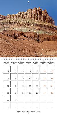 Hiking on the Colorado Plateau (Wall Calendar 2019 300 × 300 mm Square) - Produktdetailbild 4
