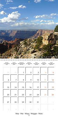 Hiking on the Colorado Plateau (Wall Calendar 2019 300 × 300 mm Square) - Produktdetailbild 5
