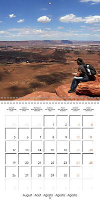 Hiking on the Colorado Plateau (Wall Calendar 2019 300 × 300 mm Square) - Produktdetailbild 8