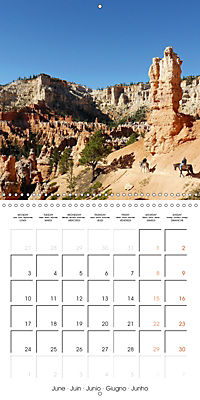 Hiking on the Colorado Plateau (Wall Calendar 2019 300 × 300 mm Square) - Produktdetailbild 6