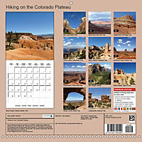 Hiking on the Colorado Plateau (Wall Calendar 2019 300 × 300 mm Square) - Produktdetailbild 13