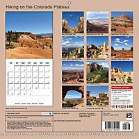 Hiking on the Colorado Plateau (Wall Calendar 2019 300 × 300 mm Square) - Produktdetailbild 13