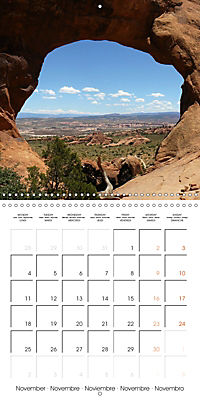 Hiking on the Colorado Plateau (Wall Calendar 2019 300 × 300 mm Square) - Produktdetailbild 11