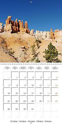 Hiking on the Colorado Plateau (Wall Calendar 2019 300 × 300 mm Square) - Produktdetailbild 10