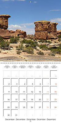 Hiking on the Colorado Plateau (Wall Calendar 2019 300 × 300 mm Square) - Produktdetailbild 12
