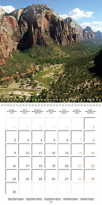 Hiking on the Colorado Plateau (Wall Calendar 2019 300 × 300 mm Square) - Produktdetailbild 9