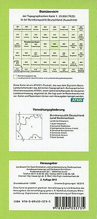 Hildesheim 1 : 25 000. (TK 3825/N) - Produktdetailbild 1