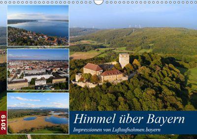 Himmel über Bayern (Wandkalender 2019 DIN A3 quer), Luftaufnahmen. bayern
