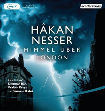 Himmel über London, 2 MP3-CDs - Hakan Nesser |