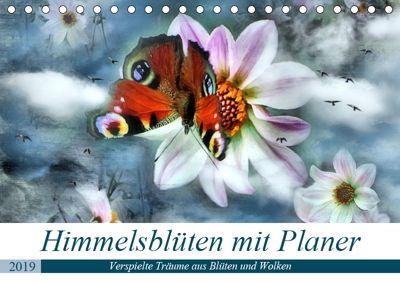 Himmelsblüten - mit Planer (Tischkalender 2019 DIN A5 quer), Garrulus glandarius