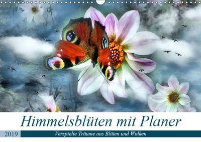 Himmelsblüten - mit Planer (Wandkalender 2019 DIN A3 quer), Garrulus glandarius