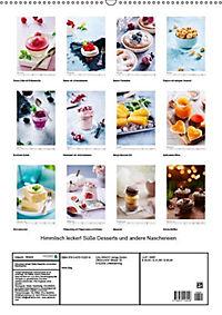 Himmlisch lecker! Süße Desserts und andere Naschereien (Wandkalender 2019 DIN A2 hoch) - Produktdetailbild 13