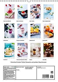 Himmlisch lecker! Süße Desserts und andere Naschereien (Wandkalender 2019 DIN A3 hoch) - Produktdetailbild 13