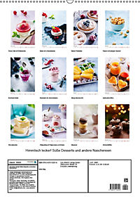 Himmlisch lecker! Süsse Desserts und andere Naschereien (Wandkalender 2019 DIN A2 hoch) - Produktdetailbild 13