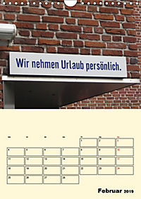 HIN-Gucker II - Witzige Werbung in unseren Strassen / Planer (Wandkalender 2019 DIN A4 hoch) - Produktdetailbild 2