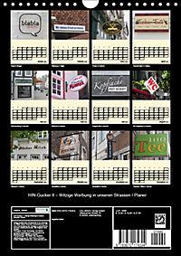 HIN-Gucker II - Witzige Werbung in unseren Strassen / Planer (Wandkalender 2019 DIN A4 hoch) - Produktdetailbild 13