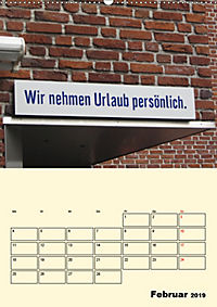 HIN-Gucker II - Witzige Werbung in unseren Strassen / Planer (Wandkalender 2019 DIN A2 hoch) - Produktdetailbild 2