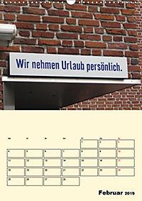 HIN-Gucker II - Witzige Werbung in unseren Strassen / Planer (Wandkalender 2019 DIN A3 hoch) - Produktdetailbild 2