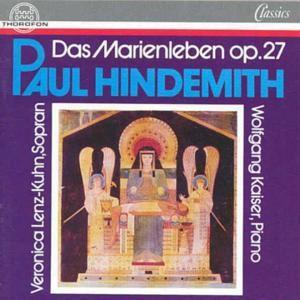 Hindemith: Das Marienleben, Veronica Lenz-Kuhn