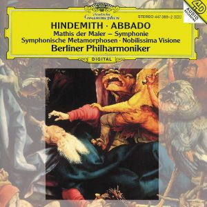 Hindemith: Mathis der Maler, Nobilissima Visione, Symphonic Metamorphoses, Claudio Abbado, Bp
