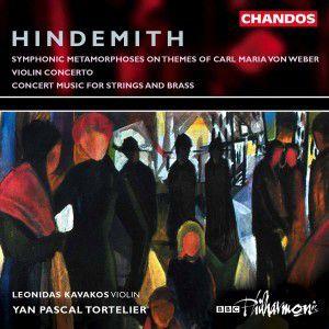 Hindemith: Sinfonische Metamorphosen / Violinkonzert / Konzertmusik op. 50, Kavakos, Tortelier, Bbcp