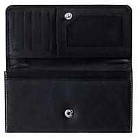 """HIS Damen-Geldbörse """"Monza"""", Langformat, Echtleder (Farbe: schwarz) - Produktdetailbild 3"""