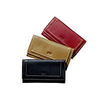"""HIS Damen-Geldbörse """"Monza"""", Langformat, Echtleder (Farbe: schwarz) - Produktdetailbild 5"""