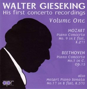 His First Concerto Records Vol. 1, Walter Gieseking