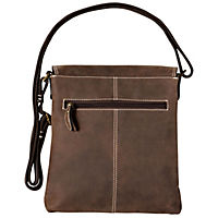 "HIS Shoulderbag ""Lima"", Leder (Farbe: Braun) - Produktdetailbild 2"