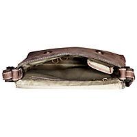 "HIS Shoulderbag ""Lima"", Leder (Farbe: Braun) - Produktdetailbild 4"