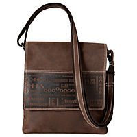 "HIS Shoulderbag ""Lima"", Leder (Farbe: Braun) - Produktdetailbild 1"