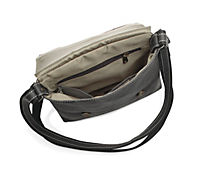 "HIS Shoulderbag ""Lima"", Leder, schwarz - Produktdetailbild 2"