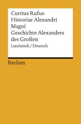 Historiae Alexandri Magni - Curtius Rufus  