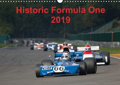 Historic Formula One 2019 (Wandkalender 2019 DIN A3 quer), Markus Faber