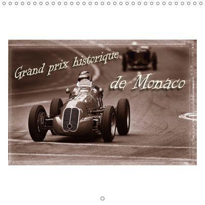 Historic Grand Prix of Monaco (Wall Calendar 2019 300 × 300 mm Square), Stefan Bau