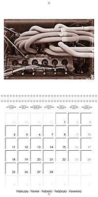 Historic Grand Prix of Monaco (Wall Calendar 2019 300 × 300 mm Square) - Produktdetailbild 2