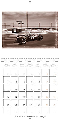 Historic Grand Prix of Monaco (Wall Calendar 2019 300 × 300 mm Square) - Produktdetailbild 3