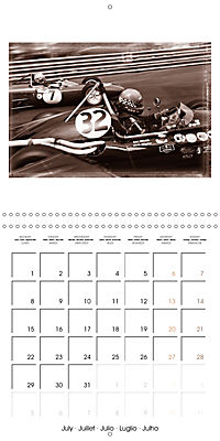 Historic Grand Prix of Monaco (Wall Calendar 2019 300 × 300 mm Square) - Produktdetailbild 7