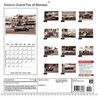Historic Grand Prix of Monaco (Wall Calendar 2019 300 × 300 mm Square) - Produktdetailbild 13