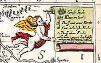 Historische Karte: Oberlausitz, 1727 - Produktdetailbild 2