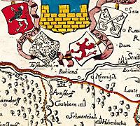 Historische Karte: Oberlausitz, 1727 - Produktdetailbild 3