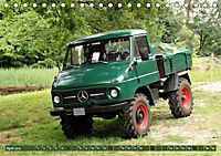 Historische Nutzfahrzeuge (Tischkalender 2019 DIN A5 quer) - Produktdetailbild 4
