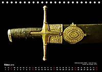 Historische Rüstungen und Waffen (Tischkalender 2019 DIN A5 quer) - Produktdetailbild 3
