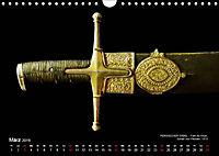 Historische Rüstungen und Waffen (Wandkalender 2019 DIN A4 quer) - Produktdetailbild 3