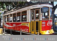 Historische Strassenbahnen in Lissabon (Wandkalender 2019 DIN A4 quer) - Produktdetailbild 1